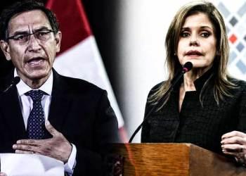 Martín Vizcarra y Mercedes Aráoz: El Perú con dos presidentes