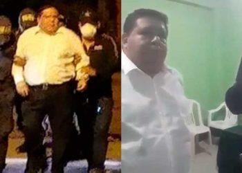 El alcalde de la provincia del Santa, Roberto Briceño Franco, fue detenido esta noche por agentes de la Policía Anticorrupción cuando bebía licor en el interior de una vivienda,