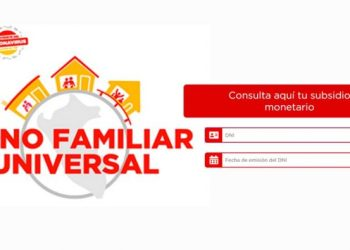 Bono Familiar Universal: link a la plataforma y cómo consultar en la web los beneficiarios con DNI