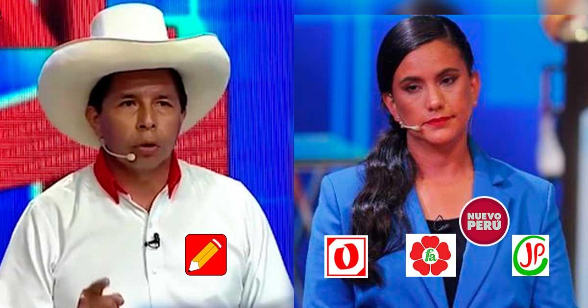 """Pedro Castillo: Verónika Mendoza es """"una oportunista que aparece de elección en elección"""""""