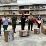 Prefectura realiza entrega de insumos médicos a parroquias rurales