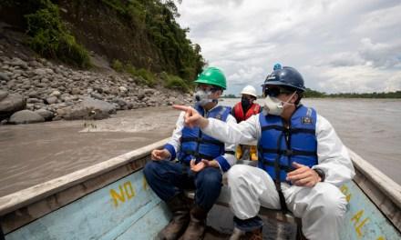 Gerente General EP PETROECUADOR, supervisó trabajos de restauración ambiental