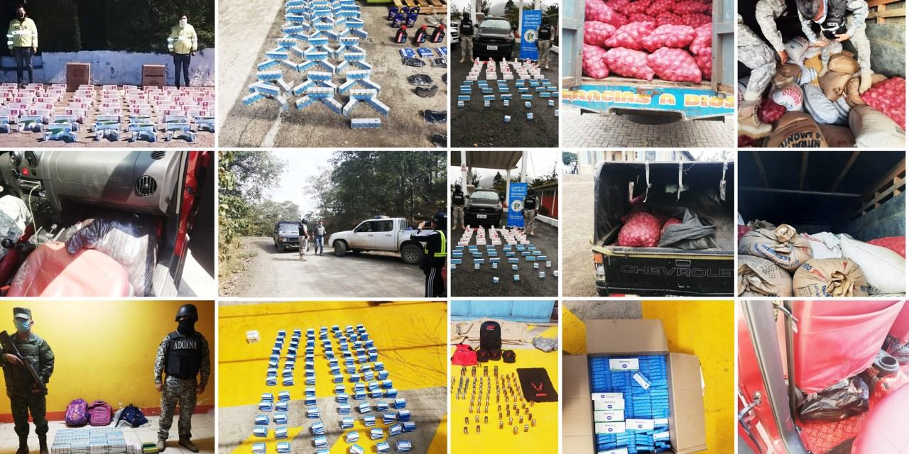 Servicio Nacional de Aduana intensifica lucha contra el contrabando