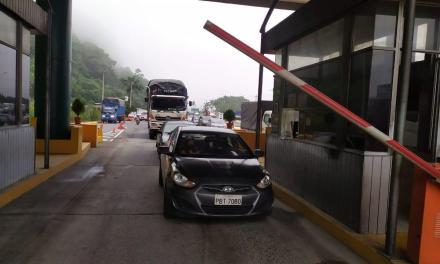 Se reanuda el cobro en la estación de peaje de Santo Domingo
