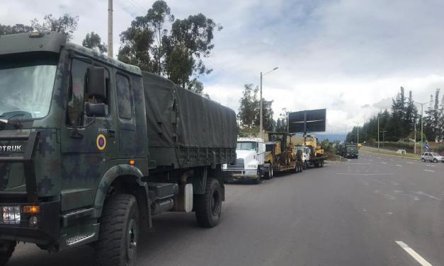 Bultos de material mineralizado decomisado serán evacuados de la zona de Buenos Aires