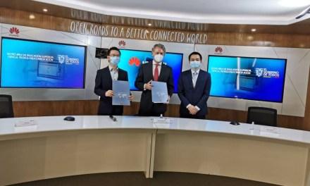 Huawei y la Senescyt firman convenio para apoyar al desarrollo de la educación superior
