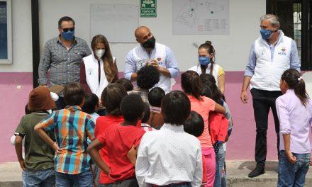 Centros de atención directa a niñas y niños en Pichincha conmemoraron el Día del Niño