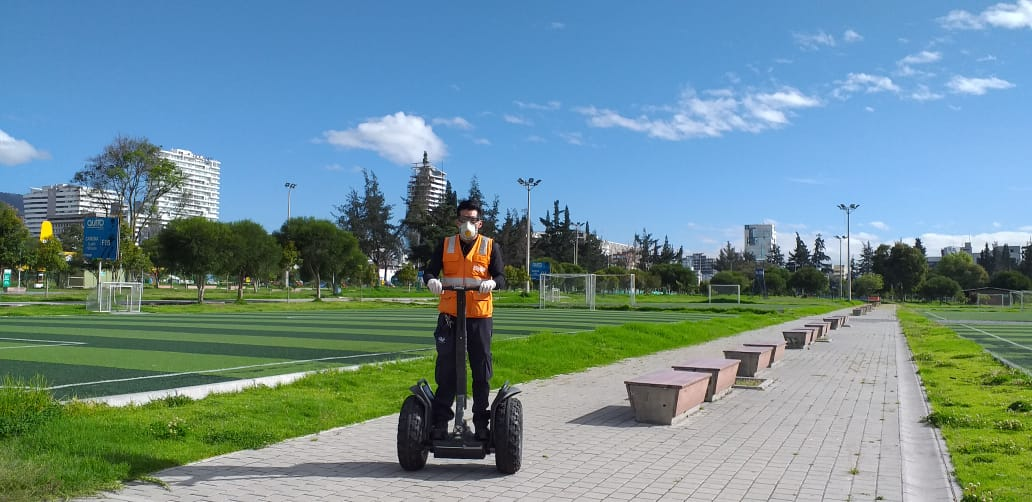 Se define áreas seguras para recreación en parques metropolitanos
