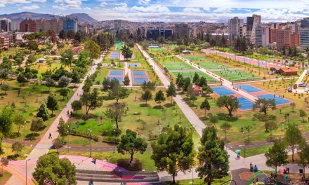 Los parques están habilitados para el paso transitorio de peatones y recreación pasiva
