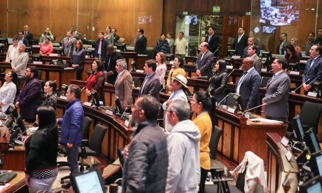 Asamblea cuestiona falta de estabilidad en Vicepresidencia