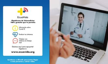 ECUAVIDA brinda telemedicina gratuita en medio de la pandemia