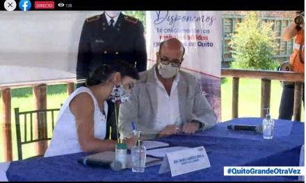 Se firmó convenio para construir nuevo cubeto en el relleno sanitario