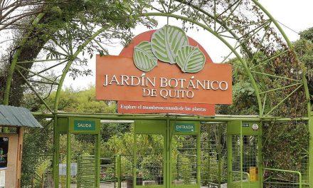 En el Jardín Botánico de Quito, se firmó el Pacto por la gestión Sostenible de los Bosques en el Ecuador