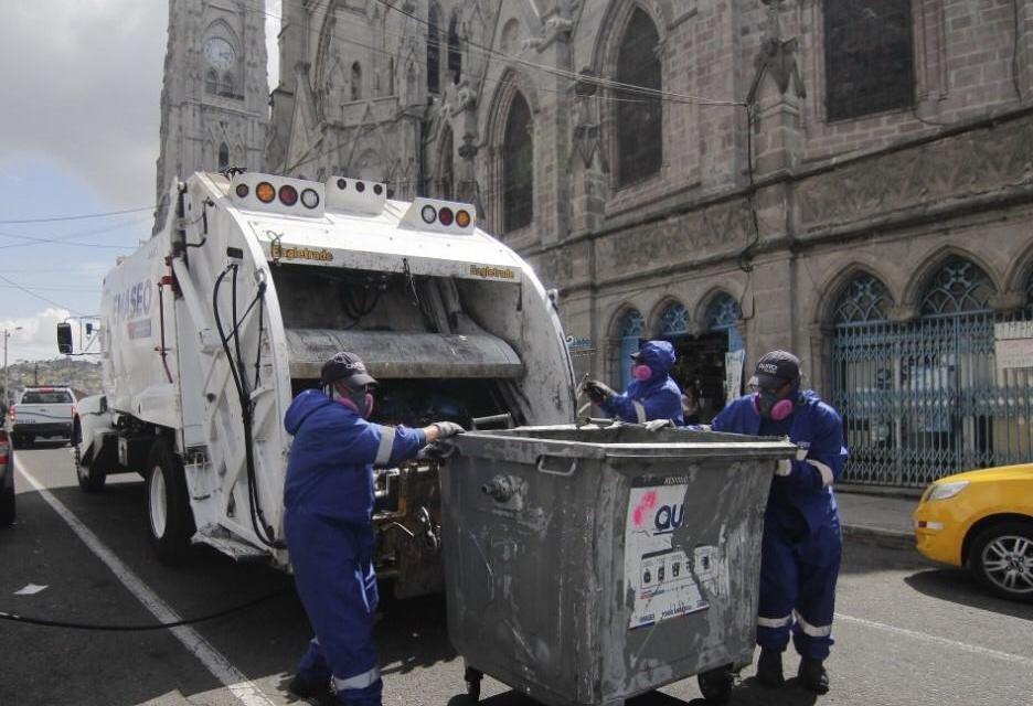 """EMASEO entrega permanentemente equipos de protección a los """"Soldados Azules"""""""