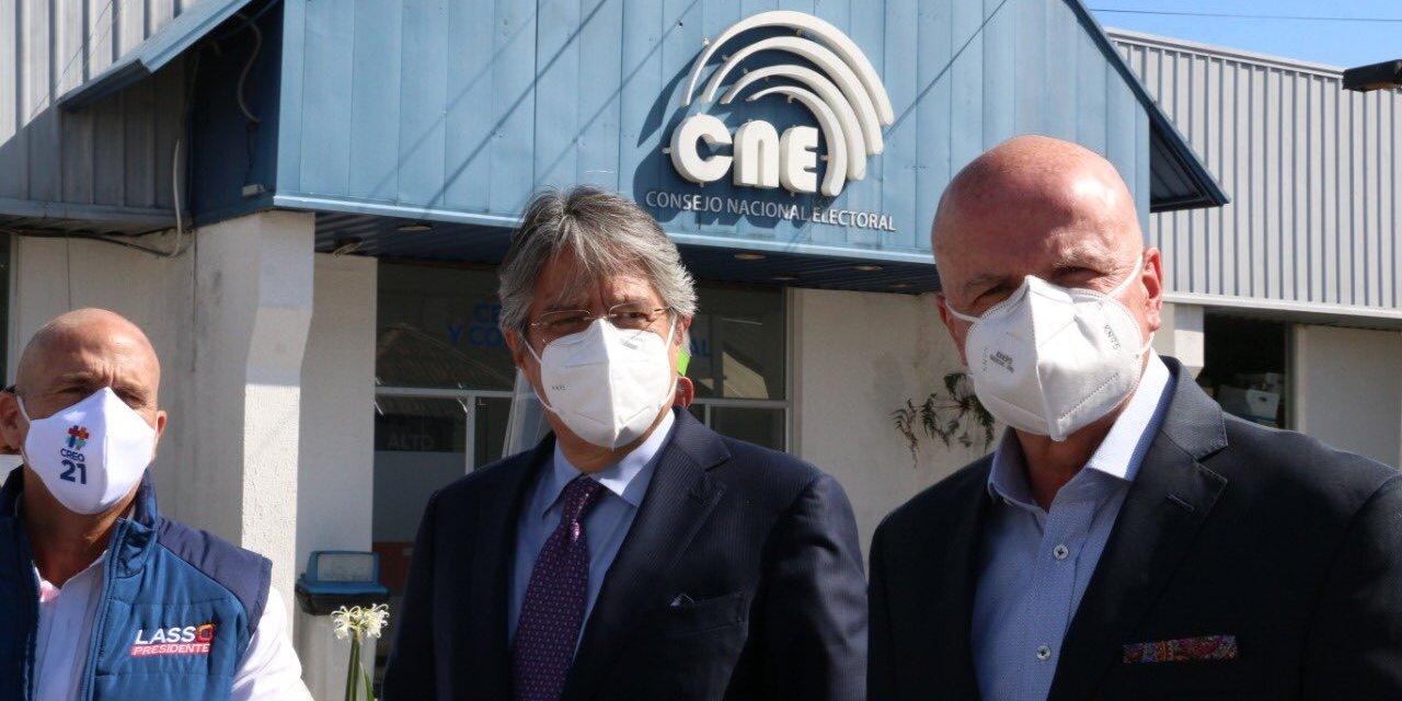 PSC y CREO concretan alianza para apoyar la candidatura del binomio Guillermo Lasso – Alfredo Borrero