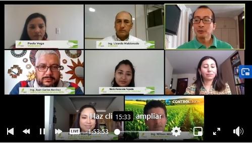 5ta. jornada virtual insumos permitidos para la producción orgánica contó con 9 mil asistentes
