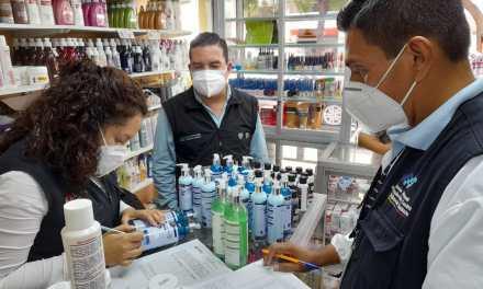 Arcsa desarrolló un operativo en 14 locales de cosméticos de cinco cantones