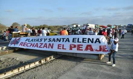habitantes de Playas rechazan la construcción de un peaje