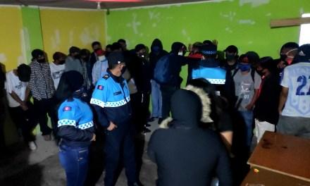 70 personas asistieron a una fiesta clandestina en la ciudadela Ibarra, al sur de Quito