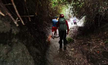 Fueron rescatadas cinco personas extraviadas en el Cerro Ilaló