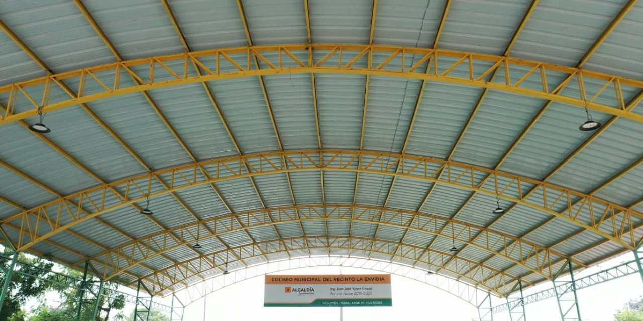 Más de 10 cubiertas metálicas se han instalado en varios recintos de Samborondón