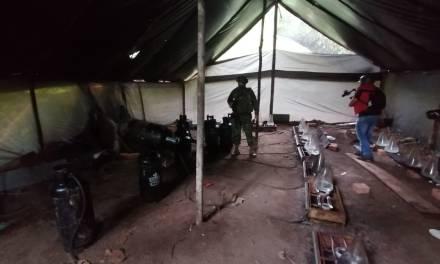 Operativo de FF.AA. localiza laboratorio clandestino en la frontera norte