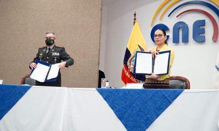 El CNE firmó contratos con el IGM para la impresión de documentos y papeletas electorales para las Elecciones