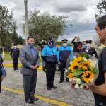 Municipio de Quito apoyará a la hija del agente Óscar Andrango