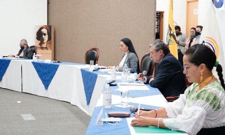 CNE inscribió a binomio de SUMA y tres listas para el Parlamento Andino