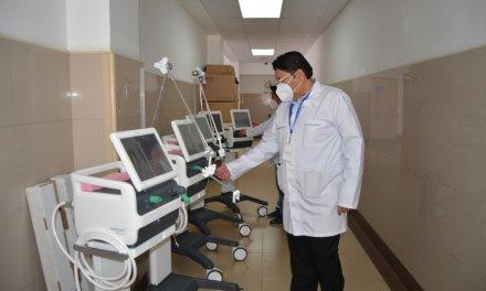 El MSP entrega 5 ventiladores mecánicos para el Hospital Teófilo Dávila