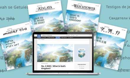 Una campaña mundial despliegan los testigos de Jehová