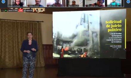 Ministra Romo afirma que la Policía respondió a la violencia extrema de octubre 2019