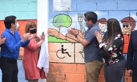 «Mural de la inclusión» para visibilizar a las personas con discapacidad