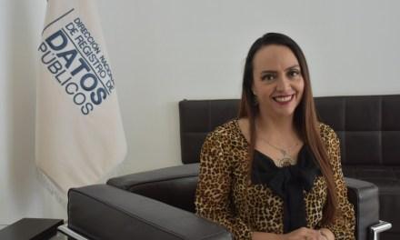 El Sistema Registral en el Ecuador se fortalece, asegura Lorena Naranjo