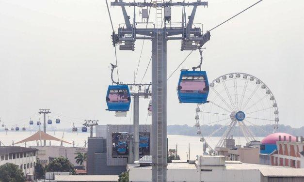 Guayaquil es la primera ciudad en Latinoamérica en tener un teleférico que cruza un río