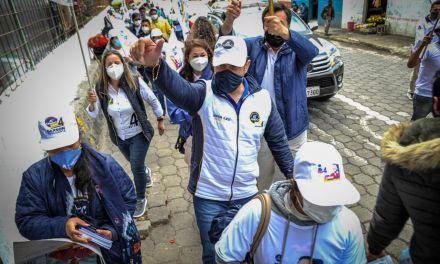 Gerson Almeida cumple una intensa agenda en la Sierra Centro