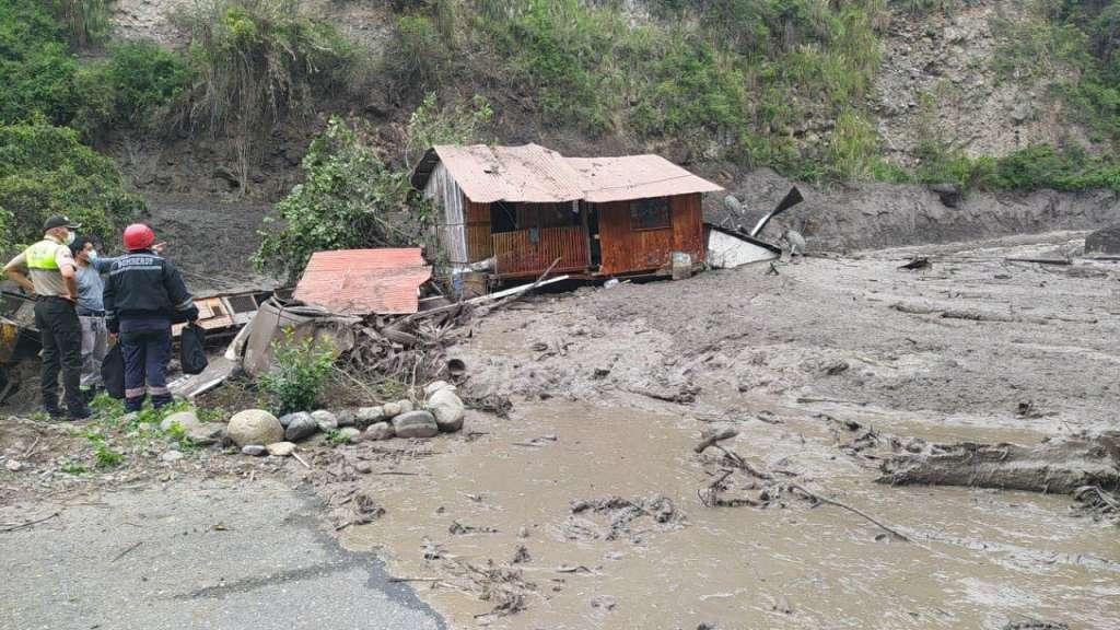 Deslizamiento en Chunchi afecta a todo un poblado