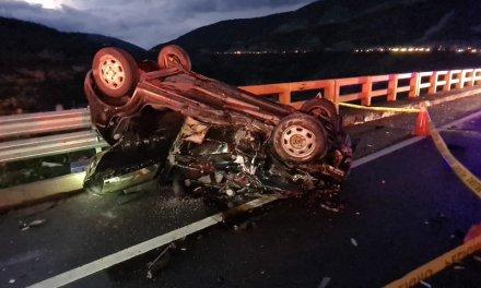 Tres heridos y un fallecido en accidente de tránsito en Guayllabamba
