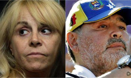 """""""A Maradona lo tenía secuestrado su abogado"""": Claudia Villafañe"""