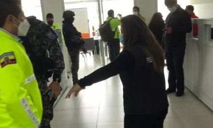 Fiscalía allana instalaciones del Ministerio de Salud