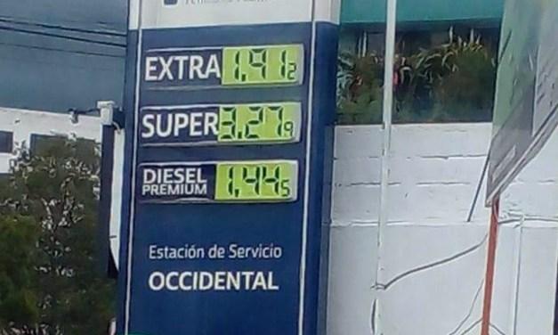 Desde este lunes, se incrementó el precio del diésel y las gasolinas