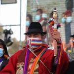 Cerca de un 64 % de ecuatorianos aprueban la imagen de Leonidas Iza