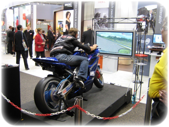 Simulator Full Motion Motorbike