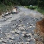 drum afectat de ploi