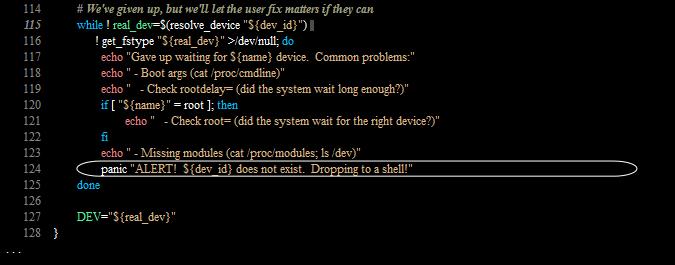 Acceso a shell root con Linux pulsando la tecla ENTER durante 70 segundos