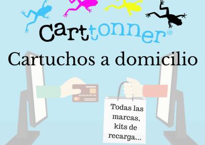 Cartel de publicidad online