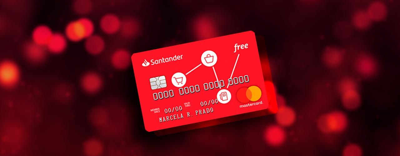 Saiba como adquirir seu cartão Santander Free