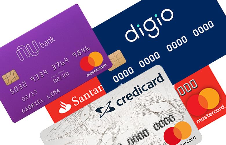 5 Melhores Cartões de Crédito sem anuidade