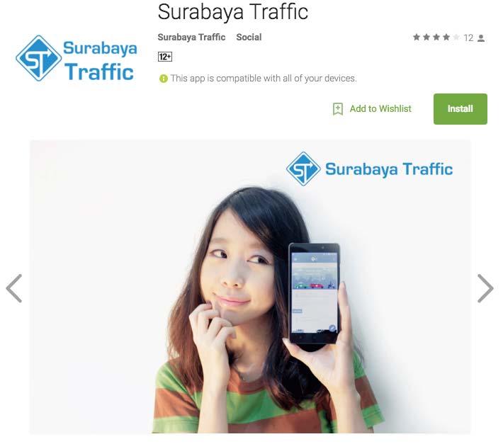 Pantau Kondisi Lalu Lintas dengan Surabaya Traffic