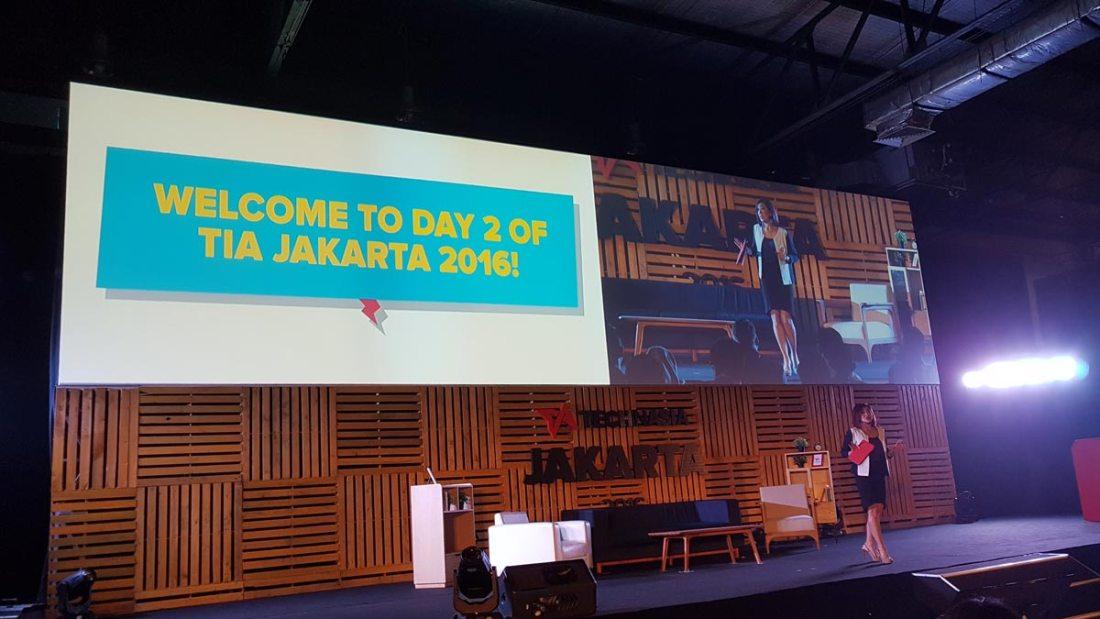 Hari kedua Tech In Asia Jakarta 2016
